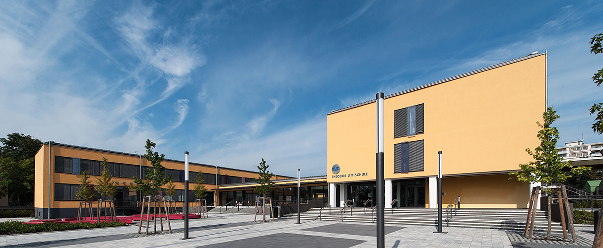 Sanierung und Erweiterung Theodor-Litt-Schule, Gießen