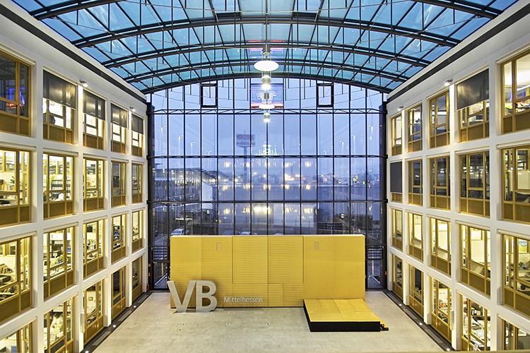 Neubau Service-Zentrum Volksbank Mittelhessen eG, Gießen