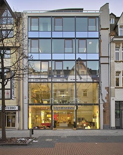 Neubau Wohn- und Geschäftshaus Plockstraße 14, Gießen