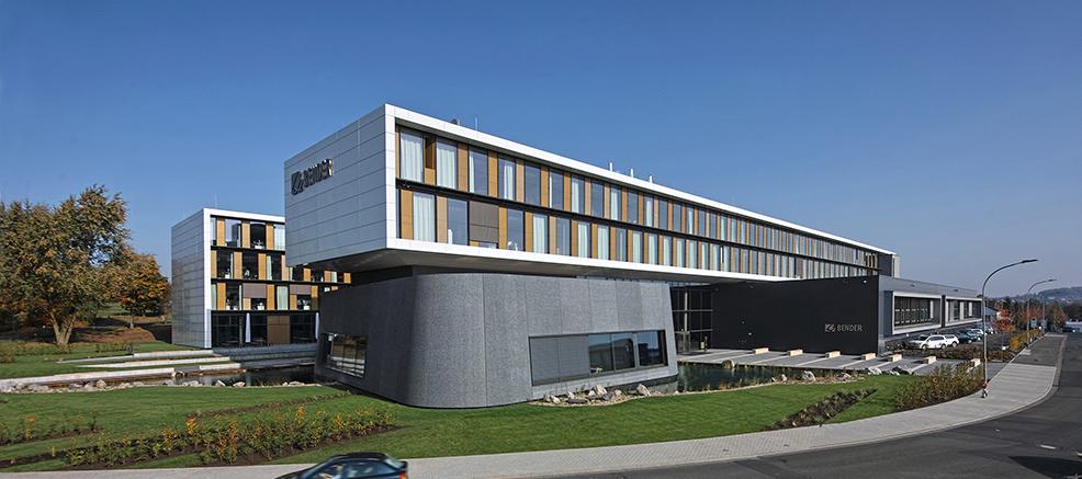 Neubau Verwaltungsgebäude Bender, Grünberg